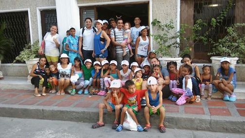 New campaign to sponsor kids growing up in vulnerable HD families in Colombia