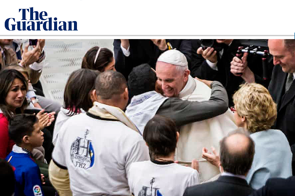 Huntington's disease: the pope steps in to help raise awareness