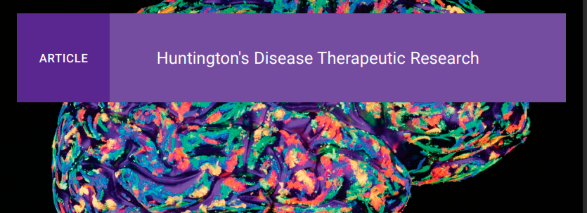 Selective Targeting of mHTT Presents Novel Therapeutic Approach to Huntington's Disease